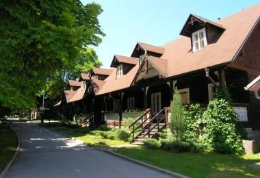 Kúpele Vyšné Ružbachy Švajčiarske domčeky
