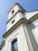Kostol sv. Vavrinca z roku 1781.