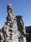 Najvyššia časť hradu.