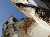 Zrúcaniny kostola a kláštora sv. Kataríny.